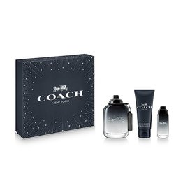 COACH COACH NEW YORK FOR MEN 3pc Set (15ml Mini)