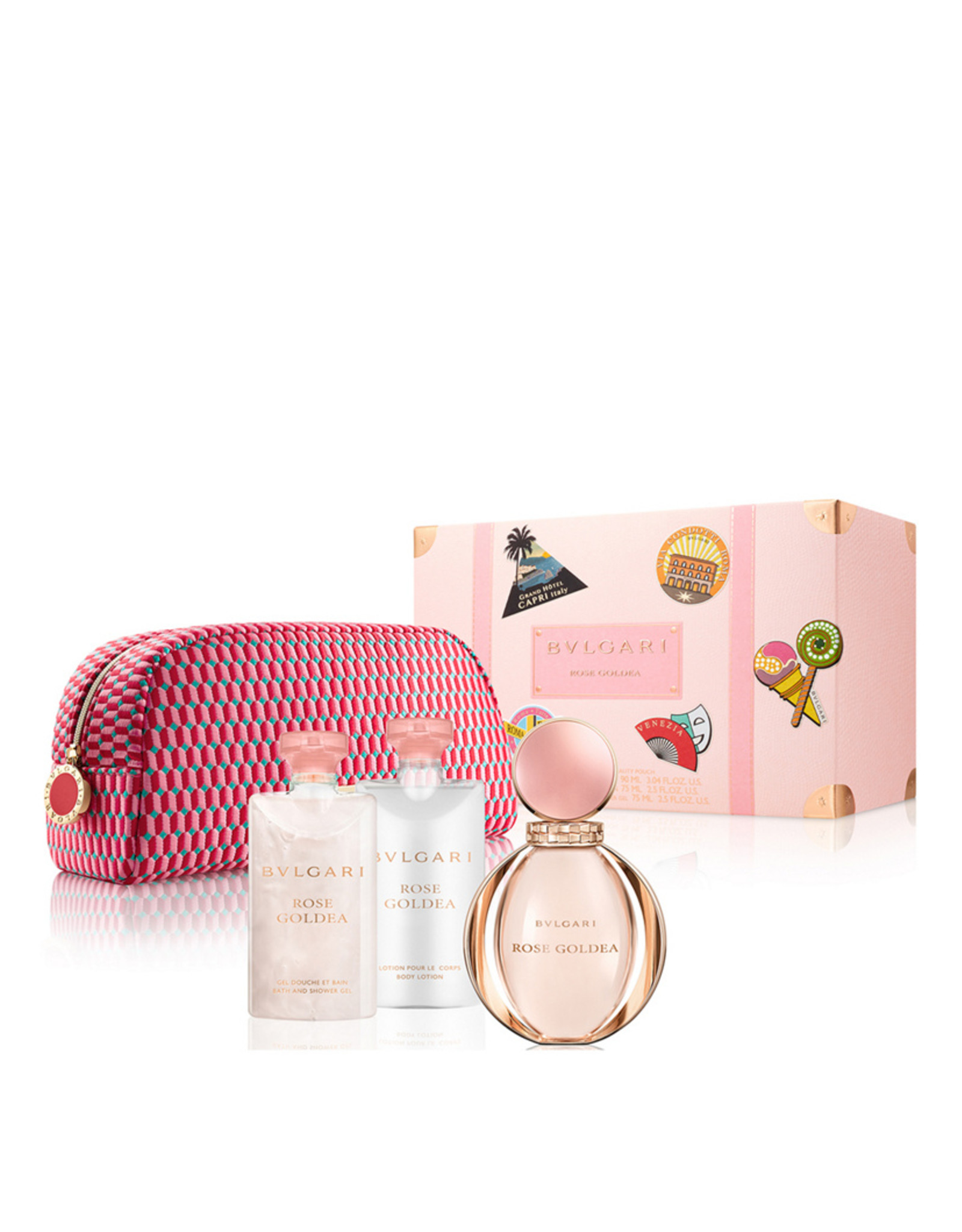 BVLGARI BVLGARI ROSE GOLDEA 4pc Set