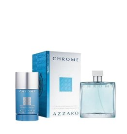 AZZARO AZZARO CHROME 2pcs Set 75ML sans-alcool DEO Stick
