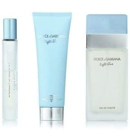DOLCE & GABBANA DOLCE & GABBANA LIGHT BLUE 3pcs Set (10ML MINI)