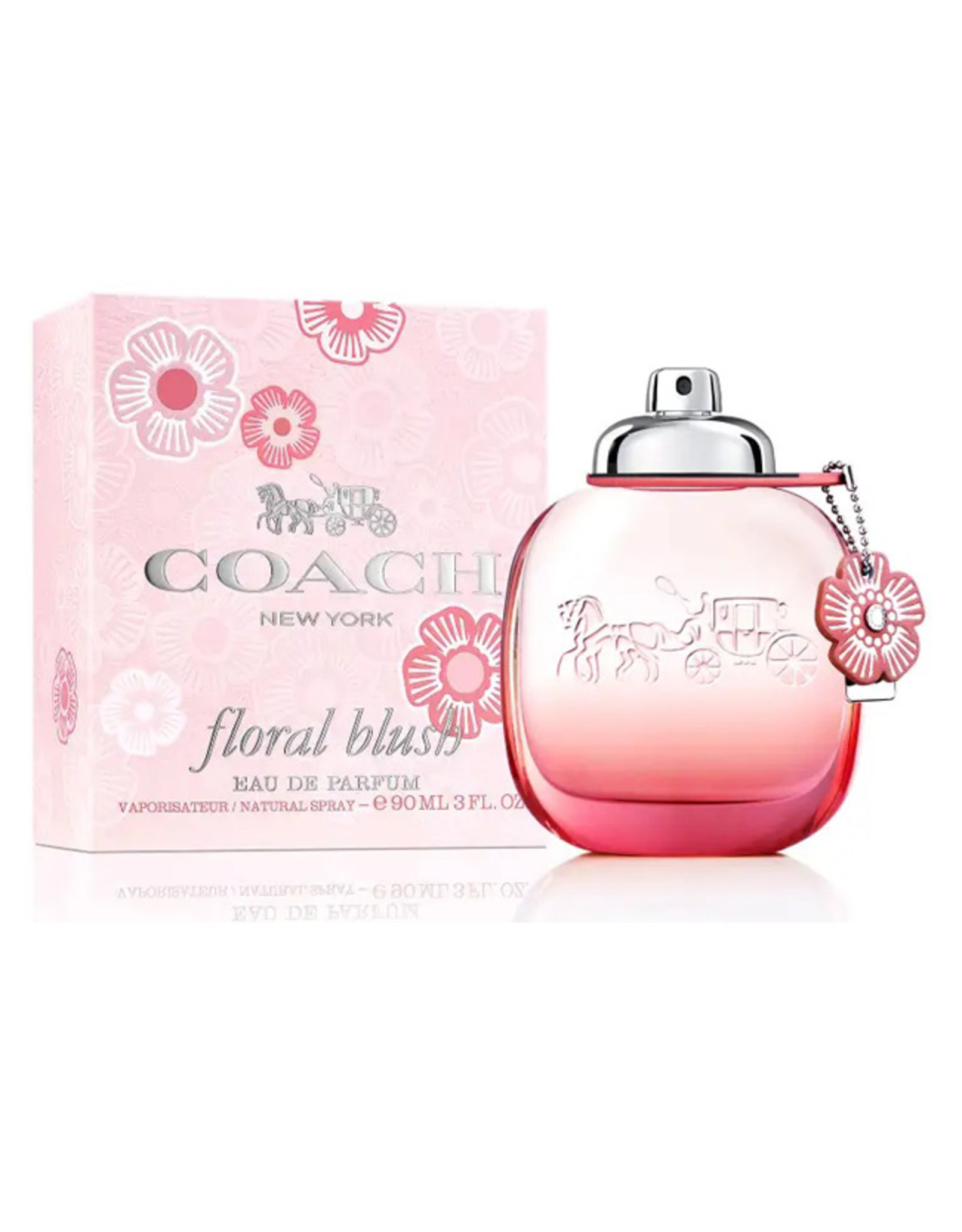 COACH COACH NEW YORK FLORAL BLUSH