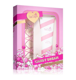 AQUOLINA PINK SUGAR CANDY CREAM SWEET ADDICTION 2pc Set