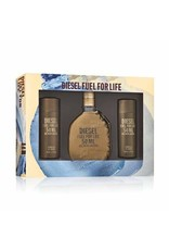 DIESEL DIESEL FUEL FOR LIFE FOR MEN 3pc Set