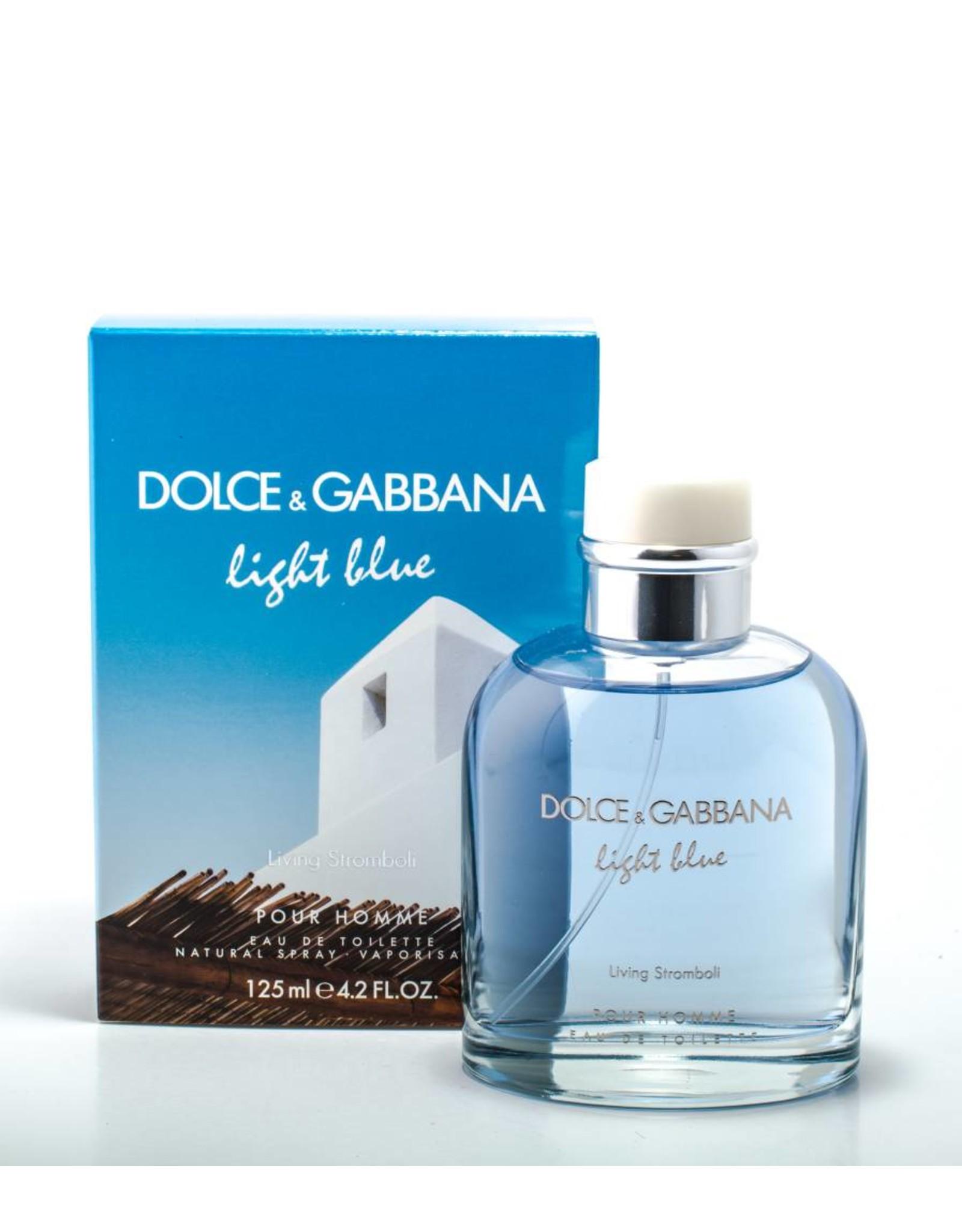 DOLCE & GABBANA DOLCE & GABBANA LIGHT BLUE LIVING STROMBOLI POUR HOMME