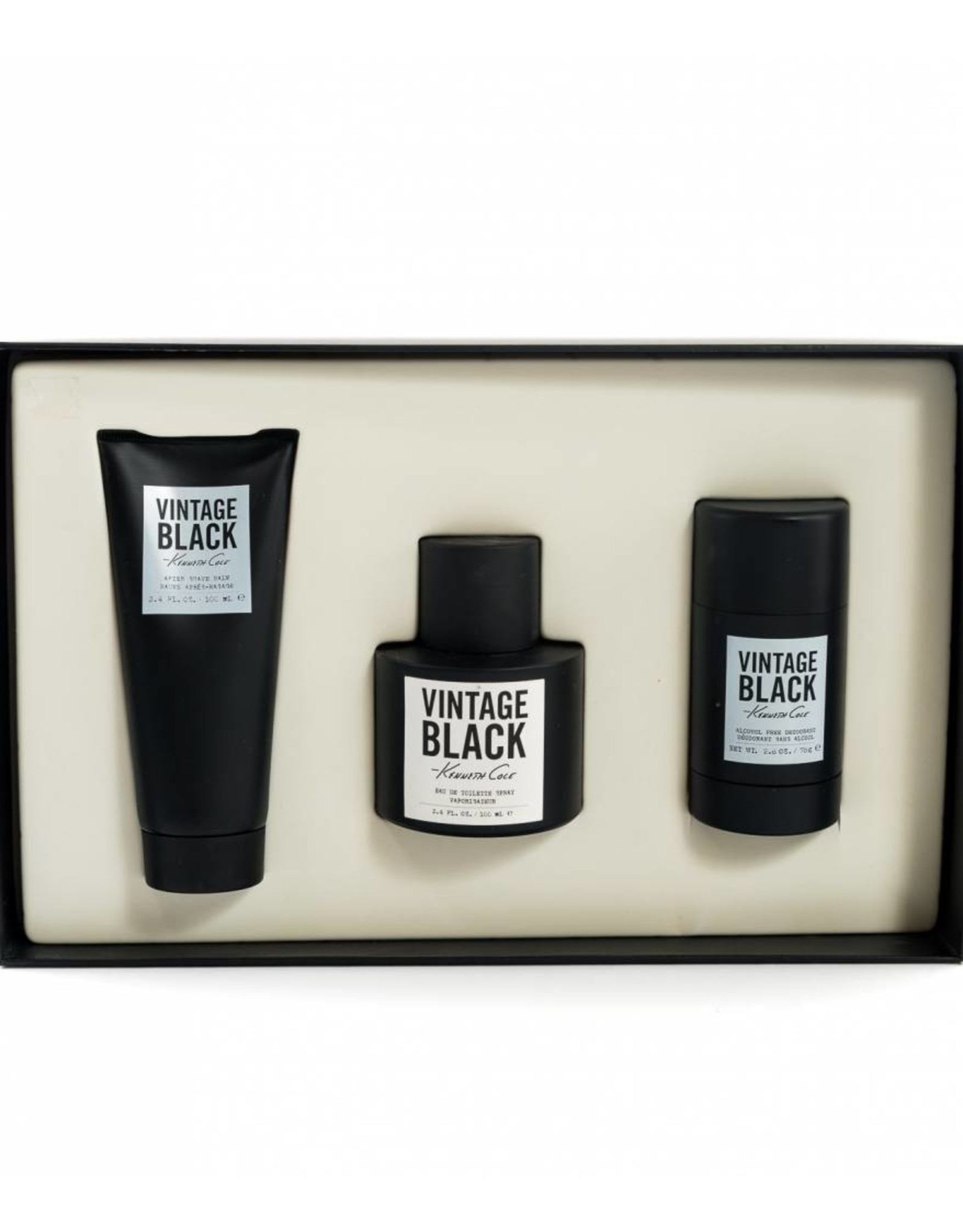 KENNETH COLE KENNETH COLE VINTAGE BLACK 3pcs Set