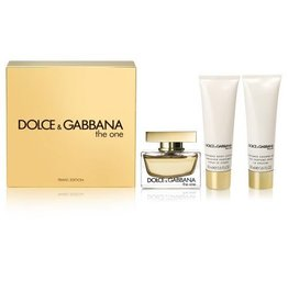 DOLCE & GABBANA DOLCE & GABBANA THE ONE (Women) 3pcs Set