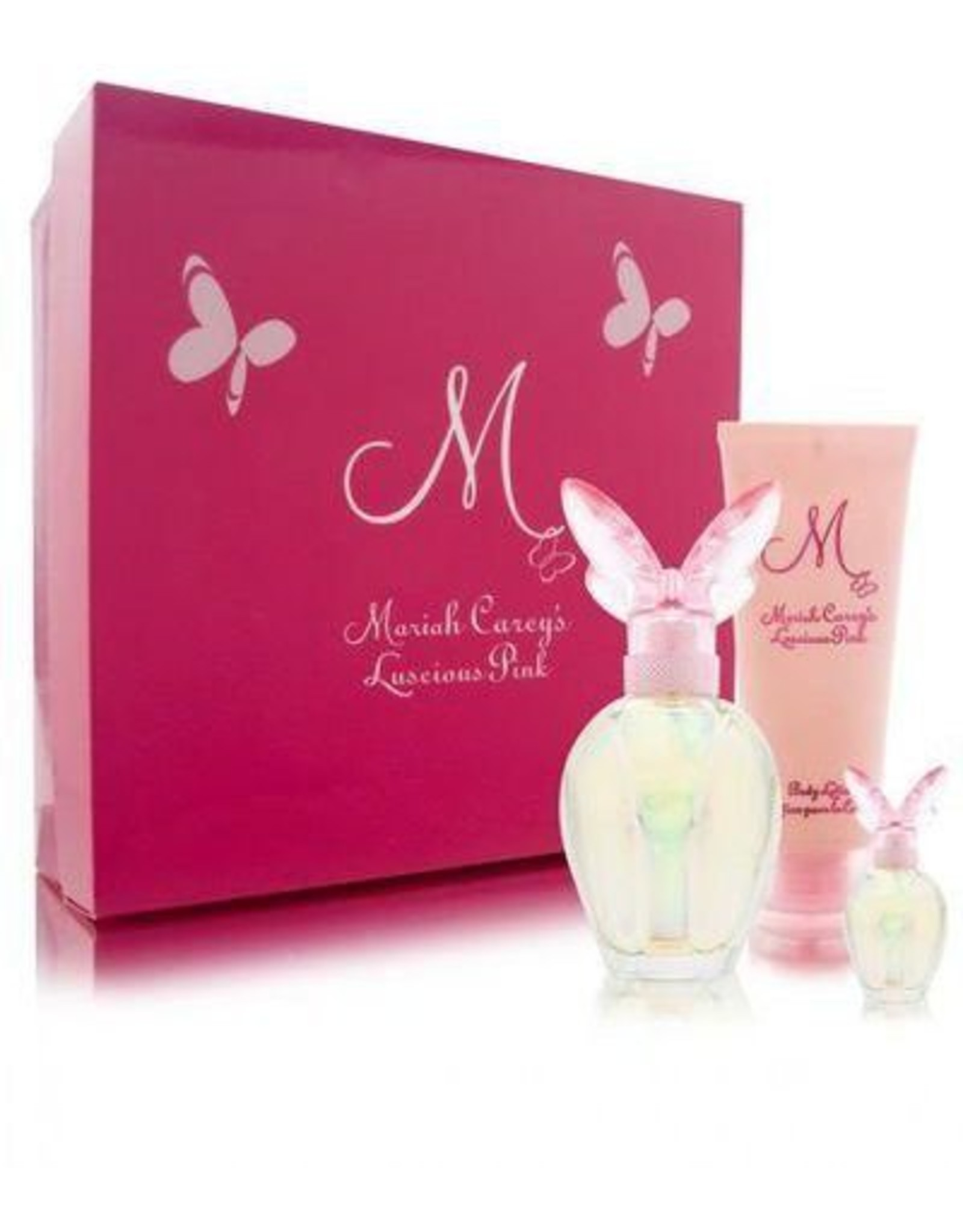 MARIAH CAREY MARIAH CAREY LUSCIOUS PINK 3pcs Set