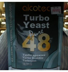 Alcotec Alcotec turbo yeast pure b48hr (Singles - Urea Free) 243 grams