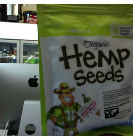 Hemp Foods Australia Hemp Foods Australia Essential Hemp Organic Hemp Seeds Hulled 114g