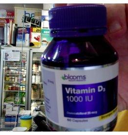 Phytologic blooms Vitamin D3 1000IU 60 capsules