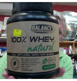 Balance 100% WHEY NATURAL UNFLAVOURED -