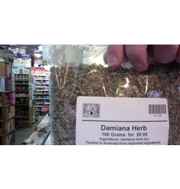 Herb wholesalers PIH Damiana herb cut 100 gms  ( origin mexico)