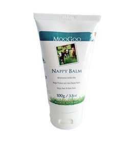 Moogoo Nappy rash balm.