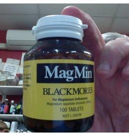 Blackmores Blacklmores MagMin 100 tablets