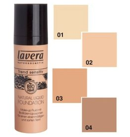 Lavera Lavera Natural Liquid Foundation - Honey 03 (natural 1)