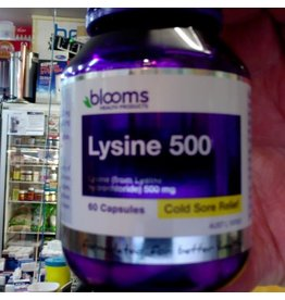 Phytologic blooms Blooms Lysine 500 mg 60 caps