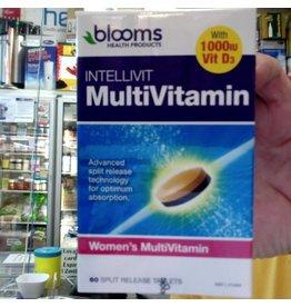 Phytologic blooms IntelliVit Women's Multivitamin 60 tablets