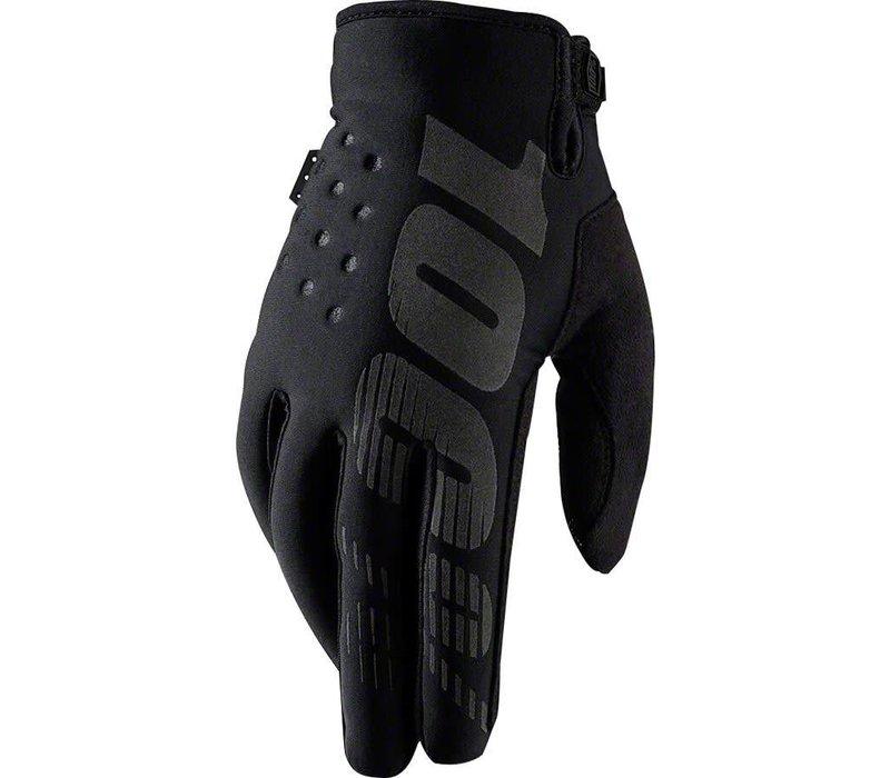 100% Brisker Glove, Black