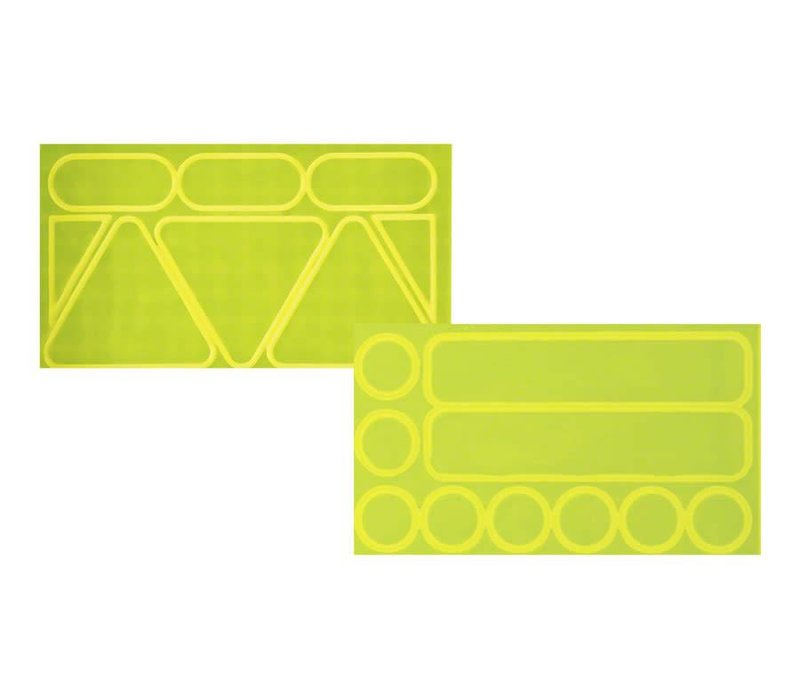 Nathan Reflective Stick-Ons: Pack of 18, Yellow