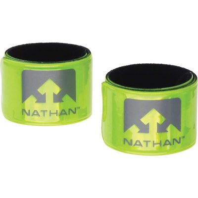 Nathan Reflex Reflective Snap Bands: Pair, Yellow