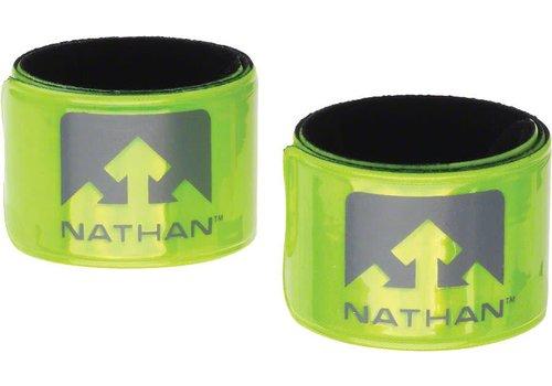 Nathan Reflex Reflective Snap Bands: Pair, Yellow