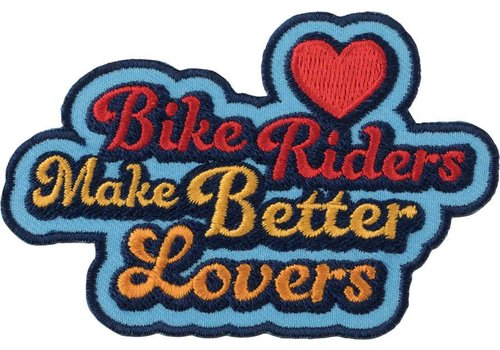 All-City All-City Biker Riders Make Better Lovers Patch
