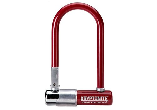 Kryptonite Kryptonite Series 2 Mini-7 U-Lock Red