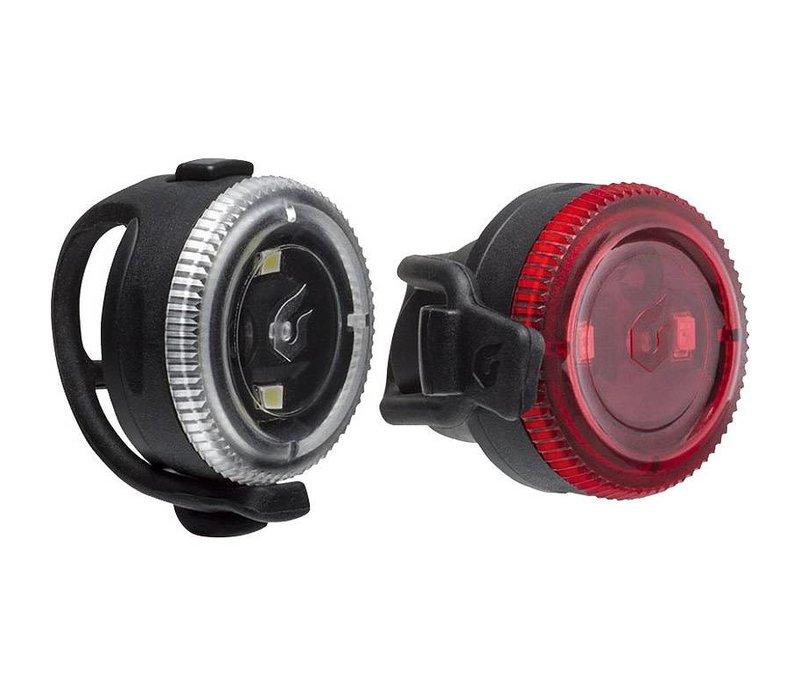 Blackburn CLICK COMBO 2.0 Light Set, Black