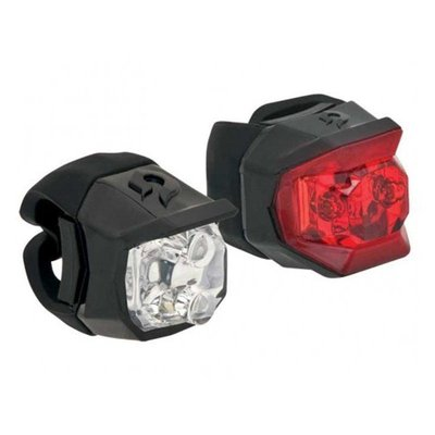 BLACKBURN Blackburn Click Combo Light Set, Black