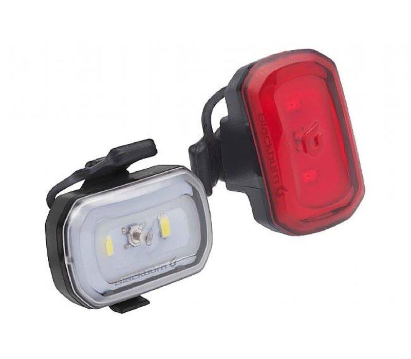 BlackBurn Click USB COMBO Light Set, Black