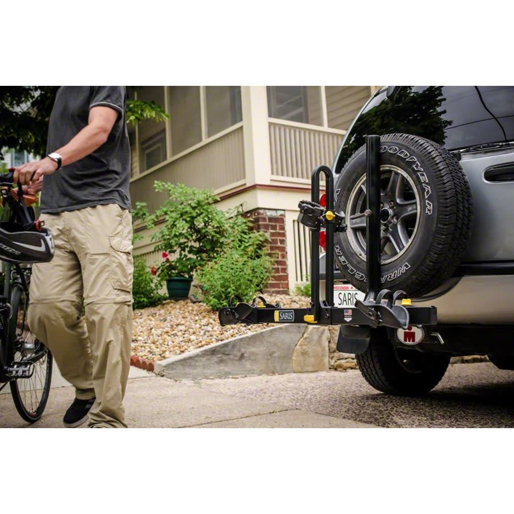 Saris Freedom Spare Tire Rack: 2-Bike Black