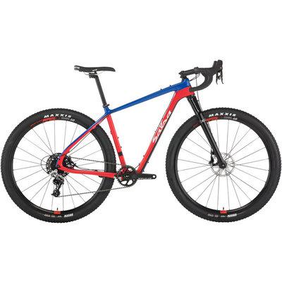 Salsa Salsa Cutthroat Rival 1 Bike - Red/Blue