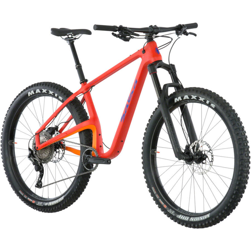 Salsa Salsa Woodsmoke SLX 1x11 27.5+ Orange-Red/Gold