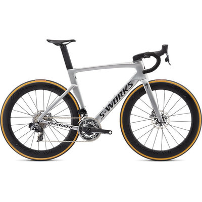 Specialized S-WORKS VENGE DISC SRAM ETAP Gloss Metallic White Silver Fade