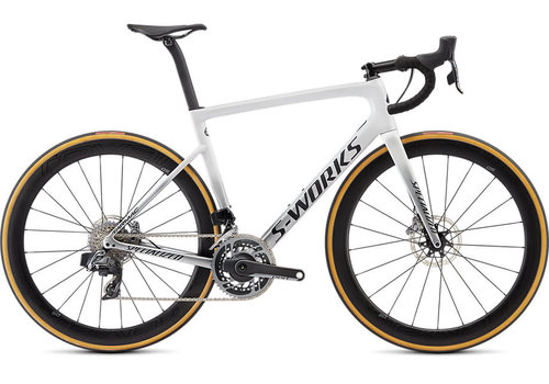 Specialized Specialized S-WORKS TARMAC DISC – SRAM ETAP Gloss Metallic White/Silver