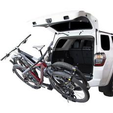 Saris SuperClamp EX Hitch Rack: 2 Bike, Universal Hitch, Black