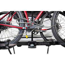 Saris Freedom EX Hitch Rack: 2 Bike, Universal Hitch, Black