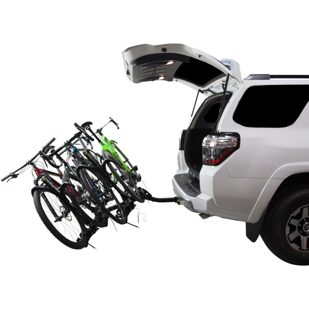 "Saris SuperClamp EX Hitch Bike Rack - 4-Bike, 2"" Receiver, Black"