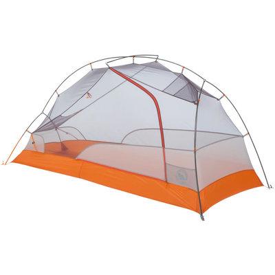 Big Agnes, Inc. Copper Spur HV UL1 Bike Packing Shelter: Gray/Orange, 1-person