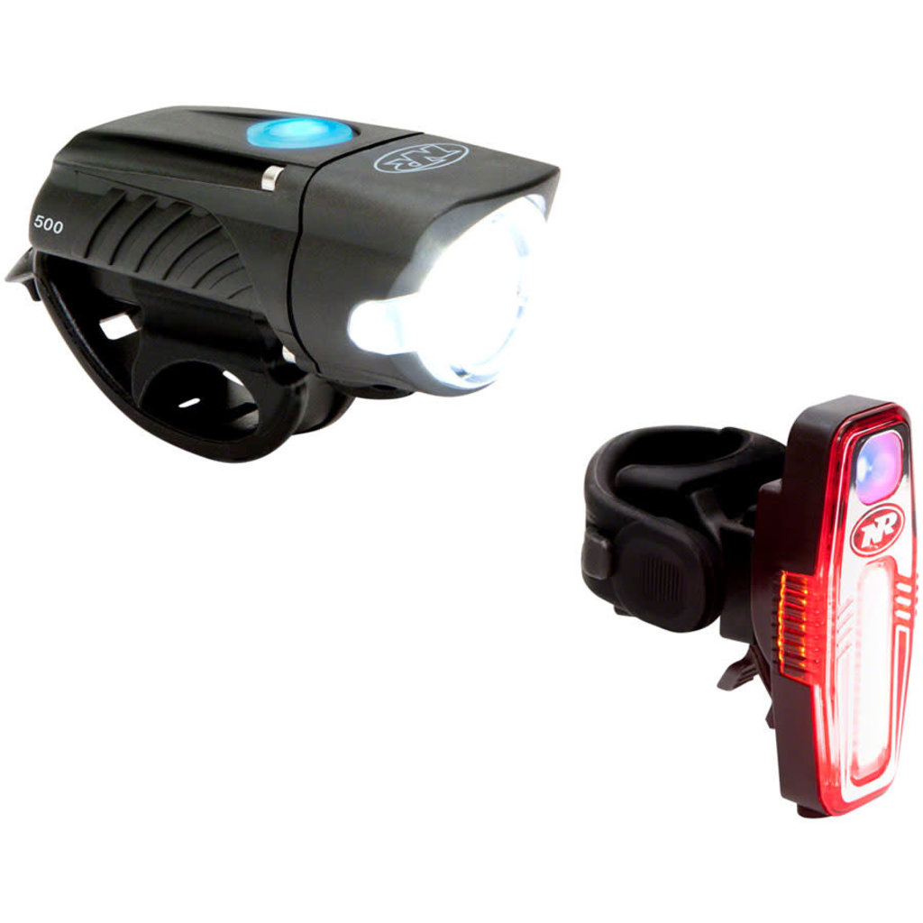 NiteRider Swift 500 and Sabre 80 Headlight and Taillight Set