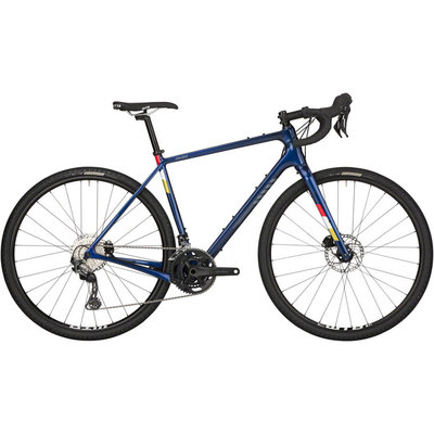 Salsa Salsa Warbird Carbon GRX 600 Bike - 700c, Dark Blue