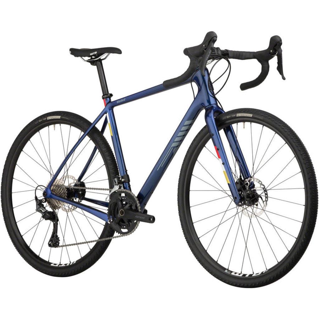 Salsa Salsa Warbird Carbon GRX 600 Bike - 700c, Dark Blue