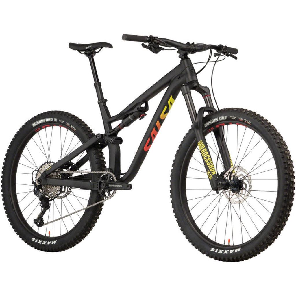 """Salsa Salsa Rustler SLX Bike - 27.5"""", Carbon, Black"""