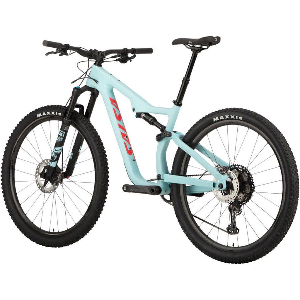 "Salsa Salsa Spearfish Carbon XTR Bike - 29"", Carbon, Blue"
