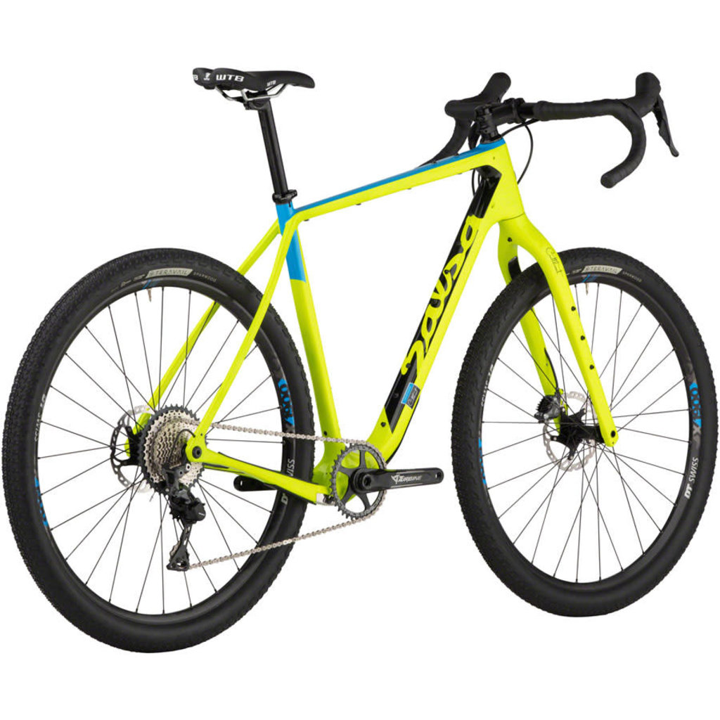 "Salsa Salsa Cutthroat Carbon GRX 810 1x Bike - 29"", Carbon, Bright Green"