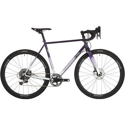 All-City All-City Cosmic Stallion Force 1 Bike - 700c, Steel, Purple Fade