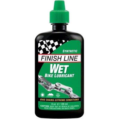 Finish Line Finish Line WET Bike Chain Lube - 4 fl oz, Drip