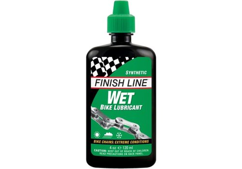 Finish Line Finish Line WET Chain Lubricant, 4oz Drip