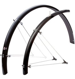 SKS B53 Commuter II Fender Set: Black 700 x 38-47mm
