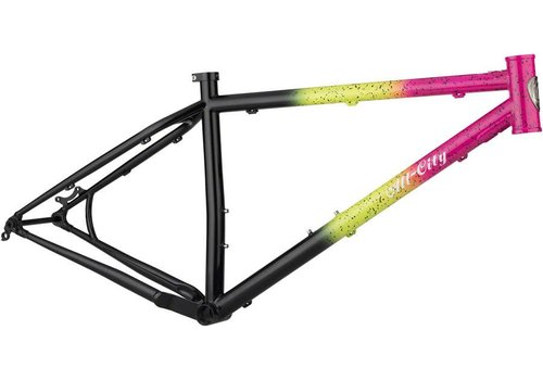 All-City All-City Electric Queen Frameset Large Green/Pink/Black